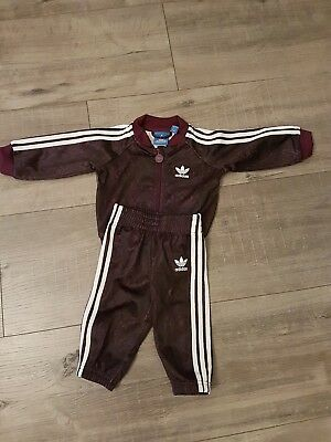 Baby genuine Adidas Tracksuit 3-6 months