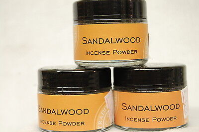 Sandalwood Traditional Incense Powder, Metaphysical  20 Grams (1) Jar