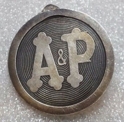A&p-Great Atlantic & Pacific Company-Super Market Store Pin-Courteous Service!