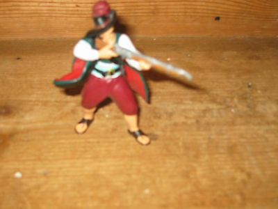 Papo 2004 Standing Collectible Playfigure Shoot Gun Cape Play Own Add To Others