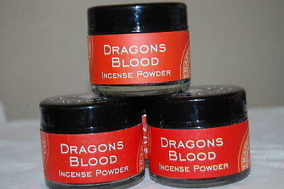 Dragons Blood Traditional Incense powder, Metaphysical  20 Grams (1) Jar