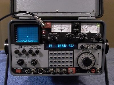 IFR 1200 Super S with options 2,4,10,12,14