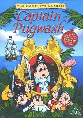The Complete Classic CAPTAIN PUGWASH DVD - BBC TV - 30 Episodes - NEW (Pirates)