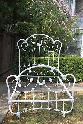Antique Brass and Iron Bed 3/4