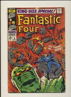 Fantastic Four Annual #6 1st Franklin Richards & Annhilus King Size Special! WOW