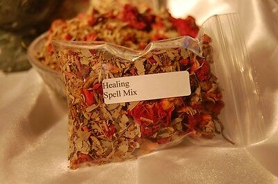 Healing Spell Mix, Incense, Herbal Baths, Charm Bags & Talismans, Metaphysical
