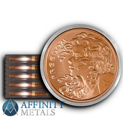 5 Coins 2016 Silver Shield Freedom Girl 1oz Copper Bullion Round  In Holders