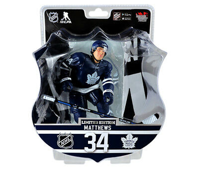 2017- 2018 Auston Matthews Toronto Maple Leafs  NHL 6' Action Figure  - Ltd 9950
