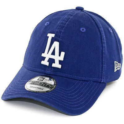 "New Era 920 ""Core Classic Los Angeles Dodgers"" Strapback Hat (Dark Royal) Cap"