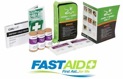 Fast Aid Snake and Spider Bite First Aid Kit Compact 2 in 1 Medical Compression