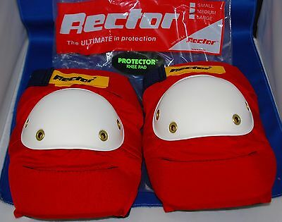 Vintage Rector Knee Pads Top Quality Size S New In The Bag