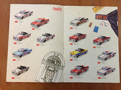 Quaitzo Toy Catalog Racing Car Models  From Portugal