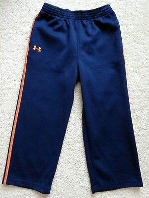 Under Armour toddler boys blue athletic pants size 4 4t