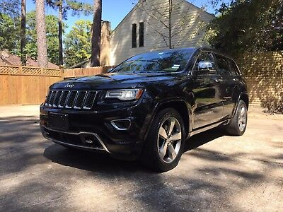 2014 Jeep Grand Cherokee Overland Overland w/ Advanced Tech Package - 44k miles