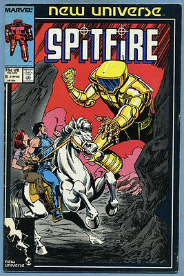 Spitfire and the Troubleshooters #9 1987 New Universe