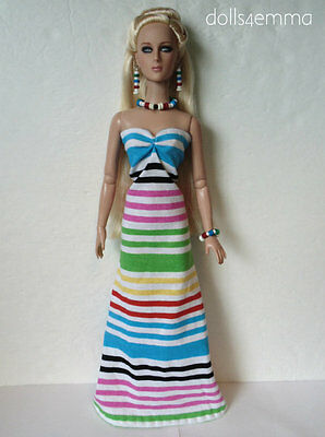 "TYLER DOLL CLOTHES ALOHA Dress & Tropical Jewelry for 16"" Tonner FASHION NO DOLL"