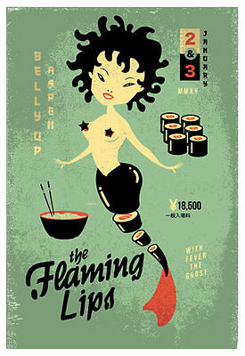 Scrojo Flaming Lips Fever The Ghost Belly Up Aspen 2015 Poster Flaming_1501