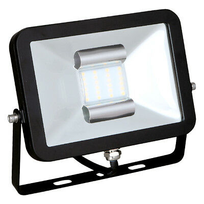 ECO LED Floodlight SMD 50W WW Warm White 3000K 3900LM IP65 Super Thin Black 100°