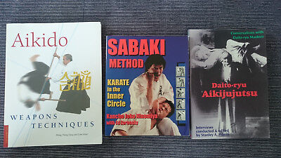 Martial Art Book Lot, Aikijujutsu. Sabaki Method Karate, Aikido.