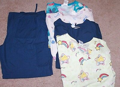 Womens Scrubs (Rainbow Brite and various prints)