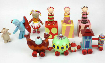Garden Doll Character Figure Ninky Nonk Train Kid Large Pack Set In the Night