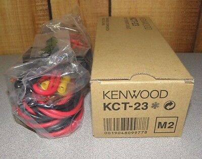 Genuine OEM Kenwood KCT-23M2 10 Ft. DC Power Cable KCT-23 M2 New in Box