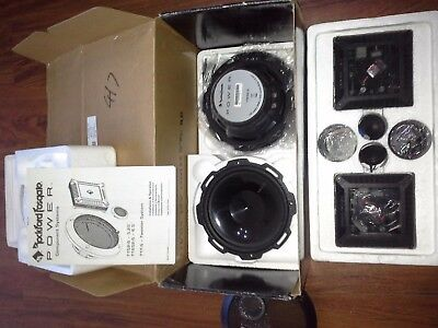 """Rockford Fosgate T1652-S 6.5"""" Car Component System"""