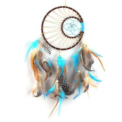 "Handmade Dream Catcher with Feather Wall Hanging Decoration Ornament 15.7"" Long"