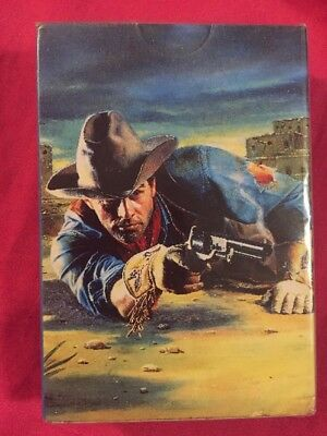 The Louis L'amour Collector's Deck Of Playing Cards Vintage Still Sealed NEW