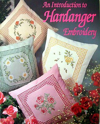 An Introduction to HARDANGER EMBROIDERY - Stitches Projects Patterns  - Like New