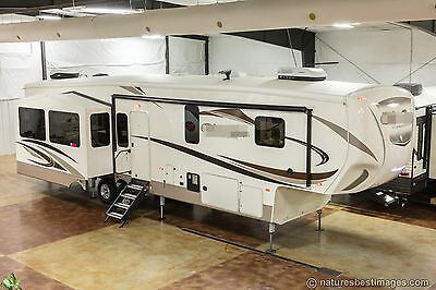 New 2018 Cedar Creek Silverback 37MBH Mid Bunk Luxury 4 Season 5th Fifth Wheel