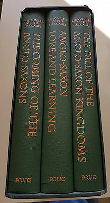 Folio Society Chronicles of the Dark Ages 3 Volumes in Slipcase. NEVER READ New
