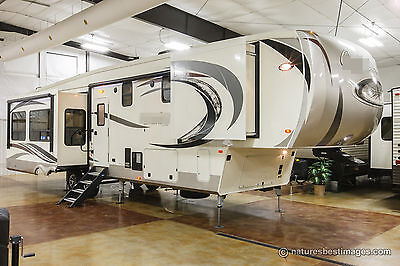 New 2017 Model 383FBC Front Bathroom Rear Living Room Luxury 5th Fifth Wheel