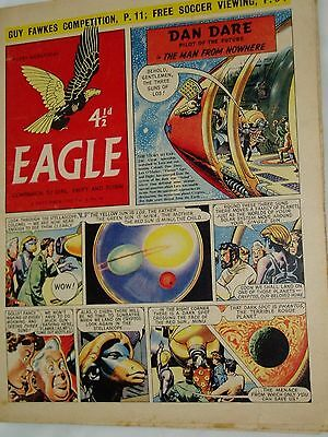 """Vintage"" EAGLE COMIC..(4th Nov.1955)..Vol 6..No 44..DAN DARE..FREE POSTAGE"
