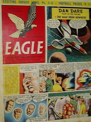 """Vintage"" EAGLE COMIC..(7th Oct 1955)..Vol 6..No 40..DAN DARE..FREE POSTAGE"