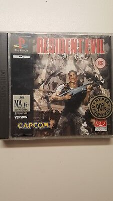 Resident Evil (Sony PlayStation 1, 1996) PAL COMPLETE