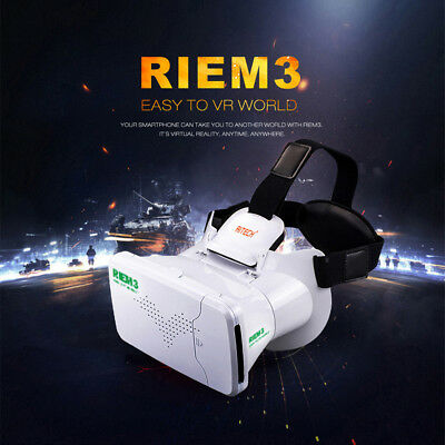 RIEM 3 3D Virtual Reality Glasses Head Mount 3D Private Movie Theater