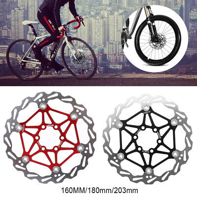 Floating Rotor Brake Disc 160/180/203mm MTB Rotors 420 Stainless Steel Pad  DY