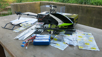 MSH HELI .Protos mini, radio control helicopter ,heaps of spares, as new
