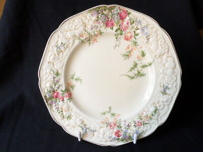 Crown Ducal. Florentine. Rosalie. Entree Plate. Made In England.