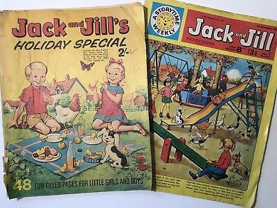 Vintage Childrens Magazine JACK AND JILL Storytime Weekly & Holiday Special 1970