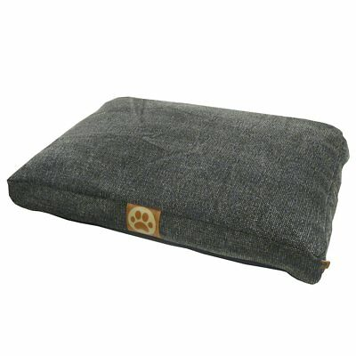 #Overseas Lit pour chiens Basic 55x75x10 cm Anthracite Panier corbeille couchage