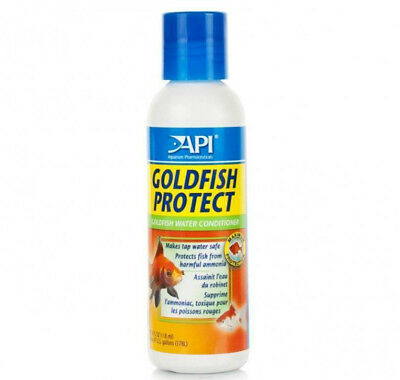 *API* GOLDFISH PROTECT,PROTECTS WATER FROM HARMFUL AMONIA 118ml bottle