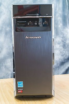 Lenovo H50-55 AMD A10-7800 3.5GHz Quad Core Desktop PC - Windows 10