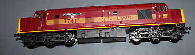 "ViTrains EWS OO Class 37 Diesel Locomotive DCC fitted  ""Not Working"" Boxed"