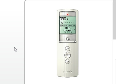 Somfy Telis 1 Chronis Rts Remote W Timer In Silver 1805238