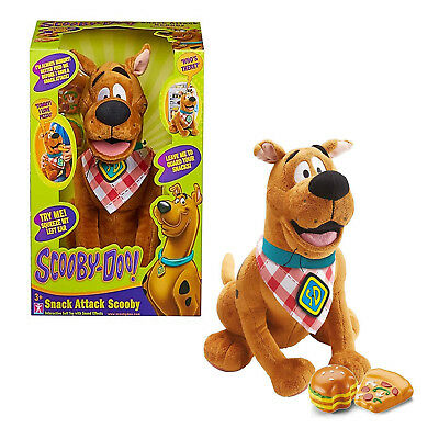 Scooby Doo Toy Snack Attack Scooby Interactive Scooby With Sound Effects NEW