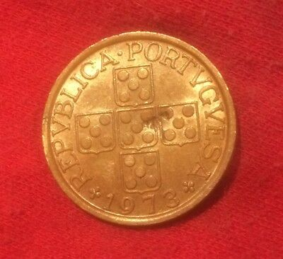 1973 Portugal 20 Centavos minimally circulated condition & highly collectable
