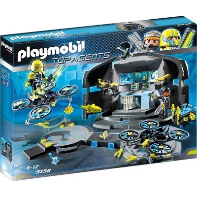 Playmobil 9250 | Spielset Top Agents Dr. Drone's Command Center | ab 6 Jahre