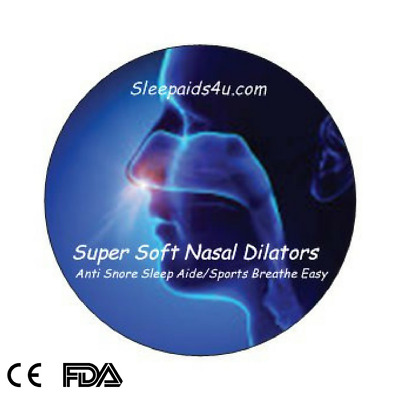 Breathe  Easy Sleep Aid Stop Snore Nasal Nose  Dilators Cone Uk Seller